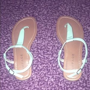 Light Turquoise Sandals 💙💎
